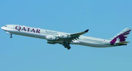 qatar A340-600HGW