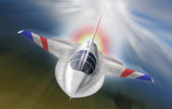 How the new F-16A will look