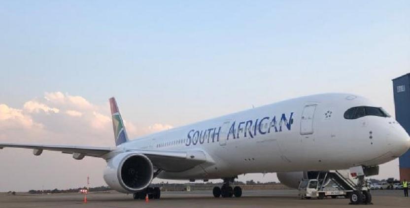 Resultado de imagen para south african airways A350